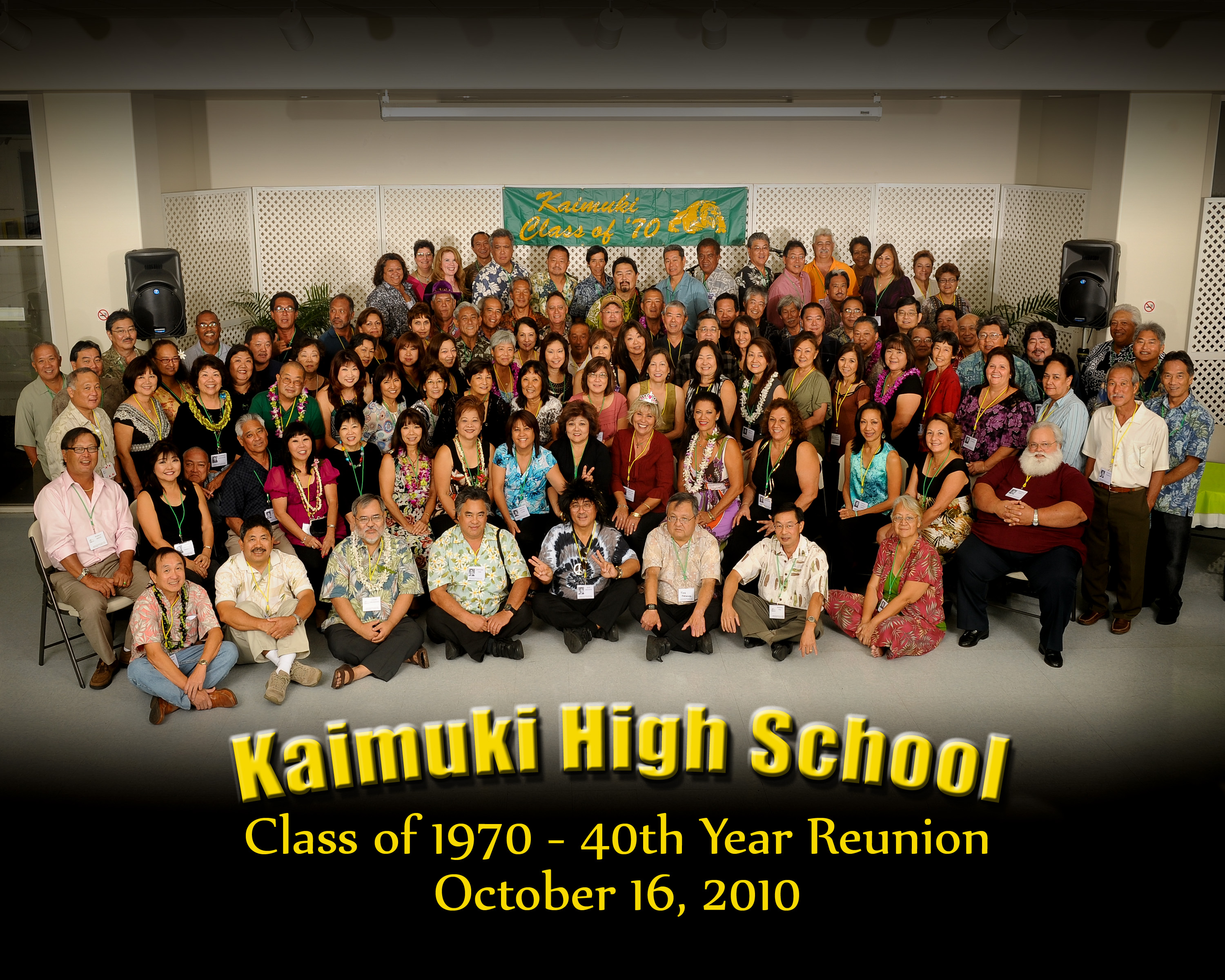kaimuki high class of 1970